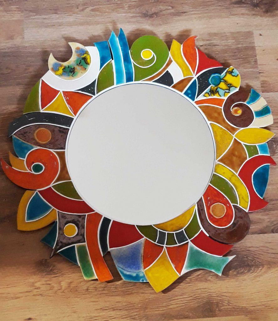 keramické zrkadlo